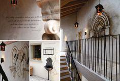 Themenhotel, Atmosphäre, Interior Design, Konzept, Entwurf, Planung, Innenausbau, Wandmalerei, Flur