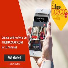 Promote your New Website In Just 10 Minutes. Few simple steps!! Create your online store, choose theme and Upload product and it's live. 14 days Free Trial. So Hurry Up and promote your website online at Theebazaar.com #onlinestore #store #newwebsite #website