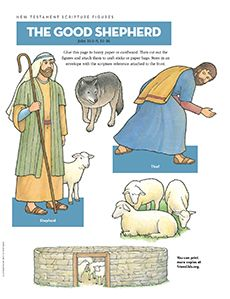 Scripture Figures, The Good Shepherd