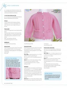 Love Knitting for Babies July 2015 UK Baby Cardigan Knitting Pattern Free, Kids Knitting Patterns, Crochet Baby Cardigan, Knit Baby Sweaters, Knitting For Kids, Knitting Designs, Baby Patterns, Baby Knitting, Baby Knits