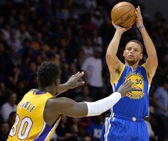 Blog Esportivo do Suíço:  Com Curry e Durant afinados, Warriors seguram Lakers e vencem mais uma