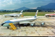 with PanAm 707 by Marcus Buttinger Us Air Force, Air Force Ones, First Plane, Boeing 707, Air Lines, Military Aircraft, Planes, Transportation, Aviation
