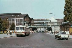 Berlin Friedrichsstraße in den 1960er Jahren.