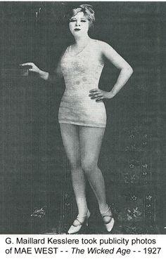 Mae West 1927