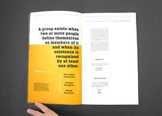 Group Dynamics by Aengus Tukel, via Behance