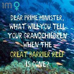 #auspol #australia #tonyabbott #greghunt #greatbarrierreef