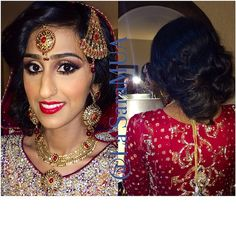 Wedding part I- makeup/hair/styling by me. It was such a pleasure to doll @rabbiaaa for her wedding. Wish you all the best in your future chica! ❤️ (Stay tuned for Part II)  #mac #macgirl #ilovemakeup  #iloveigmuas #ilovemaciggirls #makeup #makeupartist #artist #motd #lotd #potd #mua #beauty #makeupaddict #beatthatface #ibeatfaces #makeuphoneys #makeupgeek #igmakeup #instamakeup #makeupdolls #beautyguru #makeupmobb #pakistaniwedding #desiwedding #indianwedding #weddingseason #wedding