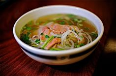 This looks like a good recipe - I've never made pho, but I absolutely love it. Will try as soon as cooler weather arrives!  Vietnamese Pho Tai (beef noodle soup)...as close to my mom's recipe...YUM!!