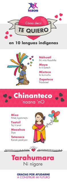 #Amor #México #LenguasIndígenas #14Feb #Educación #Lazos