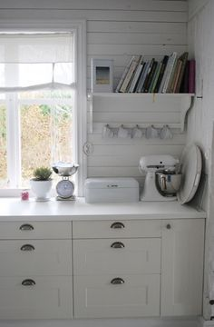 next purchase when I have my first big girl pay check. Kitchen Items, New Kitchen, Swedish House, Swedish Style, White Kitchen Inspiration, Best Kitchen Layout, Country Kitchen Designs, White Rooms, Cottage Style