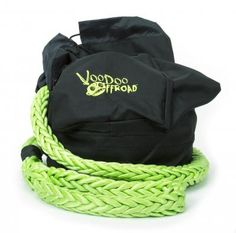 Recovery Rope Bag Green Nylon Mesh Front Panel Zipper VooDoo Offroad Winch Accessories, Tired Of People, Jeep Truck, Green Bag, Voodoo, Offroad, Barefoot, Recovery, Baby Car Seats