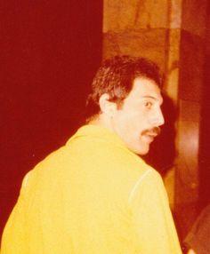 Rare photo of Freddie Mercury. 1980s.