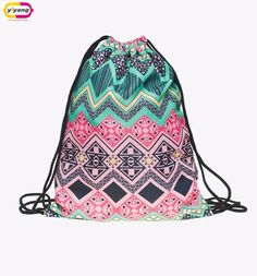 fashion backpack 3d print travel man woman mochila feminina harajuku drawstring bag unisex backpacks