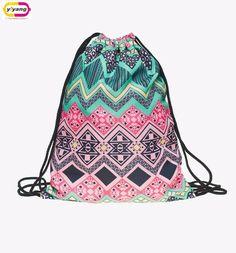 fashion backpack 3d print travel man woman mochila feminina harajuku drawstring bag unisex backpacks