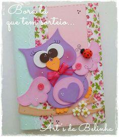 Owl Crafts, Preschool Crafts, Diy And Crafts, Crafts For Kids, Paper Crafts, Merian, Felt Owls, Decorate Notebook, Rose Tutorial