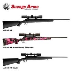 Savage Arms AXIS II XP Scoped-Rifle Packages - Savage Arms LogoWhen Savage™ Arms engineered the AXIS, it created one of the most popular bolt-action centerfire rifles in America. For 2014, the company built upon this value-packed platform to create the new AXIS II XP scoped-rifle series. http://www.odumagazine.com/savage-arms-axis-ii-xp-scoped-rifle-packages/ #savagearms #riflescope #hunting