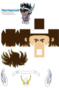 Monte e colecione papercraft de seus personagens preferidos.