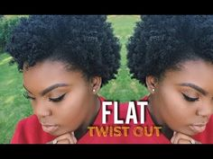Flat Twist Out on Short to Medium Natural 4C Hair | JOYNAVON - YouTube
