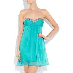 love ! vestido turquesa