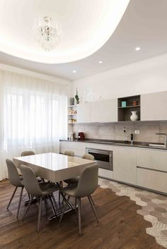 23 Clever DIY Christmas Decoration Ideas By Crafty Panda Küchen Design, Floor Design, House Design, White Kitchen Decor, Home Decor Kitchen, Bar Kitchen, Kitchen Ideas, Kitchen Room Design, Interior Design Kitchen