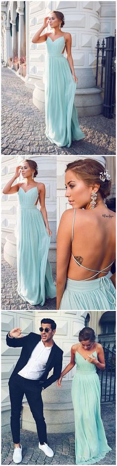 A line Prom Dress,Chiffon Prom Dress,Cheap Prom Dress,Simple Prom Dress #amyprom #longpromdress #2018prom #promdress