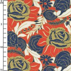 Tissu Charleston - Puttin'on the Ritz x10cm