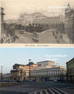 Kiedyś te miejsca i ulice były niczym parki! A dziś? Oto, jak zmieniła się Warszawa [DAWNIEJ i DZIŚ]