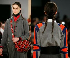 Marc by Marc Jacobs runway hair [nyfw fall '14]