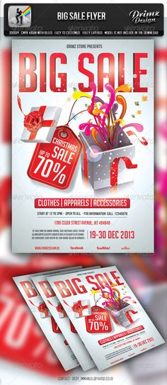 Christmas Party Flyer + Instapromo Party flyer, Flyer template - holiday party flyer template