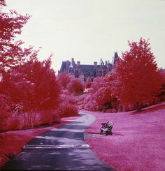 I believe this is the Biltmore.  How did they do that?