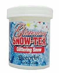 Realistic snow-tex snow