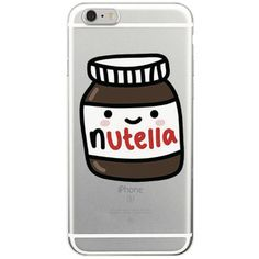 Nutella lovin phone cases