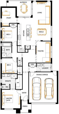 floorplan 24 Addison Carlisle homes