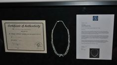 1900's Style Costume Diamond Necklace used in the movie Titanic with Certificate of Authenticity.