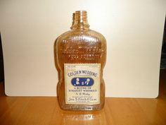 Golden Wedding 1930s whiskey bottle!