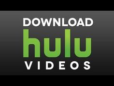 Download HULU Videos Free Video Converter, Download Video, Technology, Videos, Tech, Tecnologia, Engineering, Video Clip