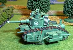 All Quiet on the Martian Front : MK IV Steam Tank Review | All ...