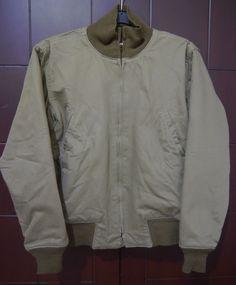 Buzz Rickson's WWII Repro Tanker Jacket by Toyo Enterprise RARE Size 34R | eBay