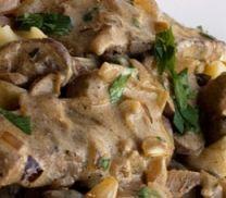 Beef Stroganoff with Mushroom (Atkins Diet Phase 1 Recipe)   Diet Plan 101