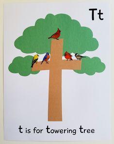Alphabet Printable Craft Pack for Preschoolers My Preschool Plan Letter T Activities, Preschool Letter Crafts, Alphabet Letter Crafts, Abc Crafts, Fall Preschool, Alphabet For Kids, Alphabet Book, Preschool Activities, Spanish Alphabet