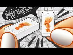 Realistic Miniature iPhone 6S (Rose Gold) Tutorial!   DollHouse DIY ♥ - YouTube