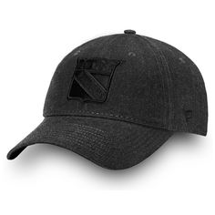 f2a9bceab7e Men s New York Rangers Fanatics Branded Black Team Haze Adjustable Snapback  Hat