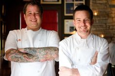 Pastry Chef Philip Speer and Chef Tyson Cole and of Uchi – Austin, TX