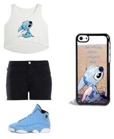 """""""by Jojo"""" by kaejaee on Polyvore featuring Disney, Love Moschino and NIKE"""