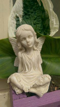 Fairy - www. Garden Sculpture, Fairy, Statue, Outdoor Decor, Inspiration, Products, Biblical Inspiration, Sculptures, Inspirational