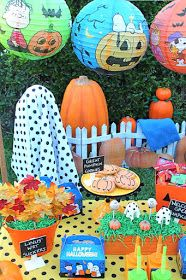 LAURA'S little PARTY: It's The Great Pumpkin, Charlie Brown | Halloween Party Ideas
