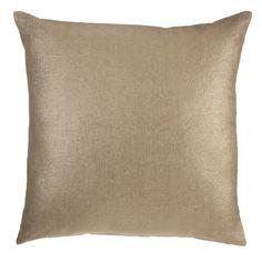 Sierkussen KAAT Tyler Gold - NIEUWE COLLECTIE   Cushion KAAT   http://www.livengo.nl/beddengoed/sierkussens   #kussen #goud #slaapkamer #livengo