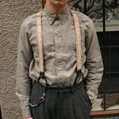 1920's Two Pocket Sunset Shirt Gastor Gray Levi's Vintage Clothing