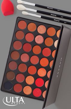 A Morphe palette for every mood. Beauty bloggers swear by this brand for super soft brushes and blendable, pigmented eye shadows. Smaller palettes have 9 shades, and larger ones have 35 shades with a mix of shimmer and mattes for tons of makeup looks.