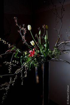 Ikebana, japanese flower arrangement